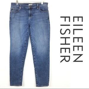 Eileen Fisher Straight Leg Jeans Style R17BD